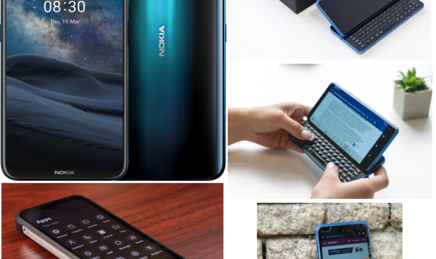 Chapter 6 – Four interesting replacement smartphones